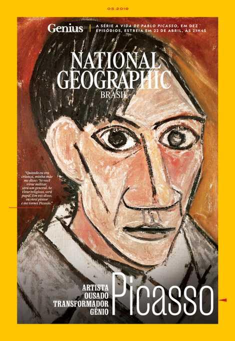 Por volta dos 26 anos, Pablo Picasso concebeu este autorretrato – na época em que ele ...