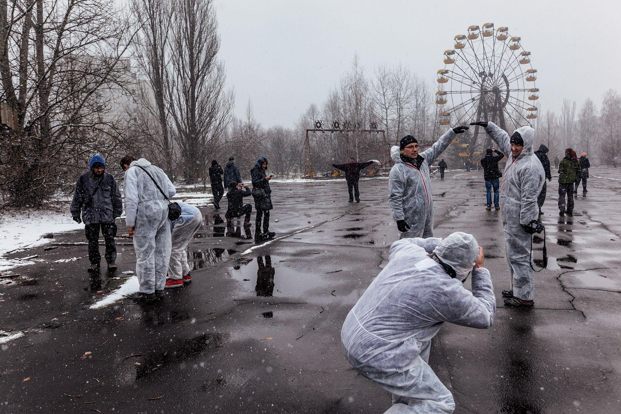 Turismo nuclear – um legado surpreendente do desastre de Chernobyl | National Geographic