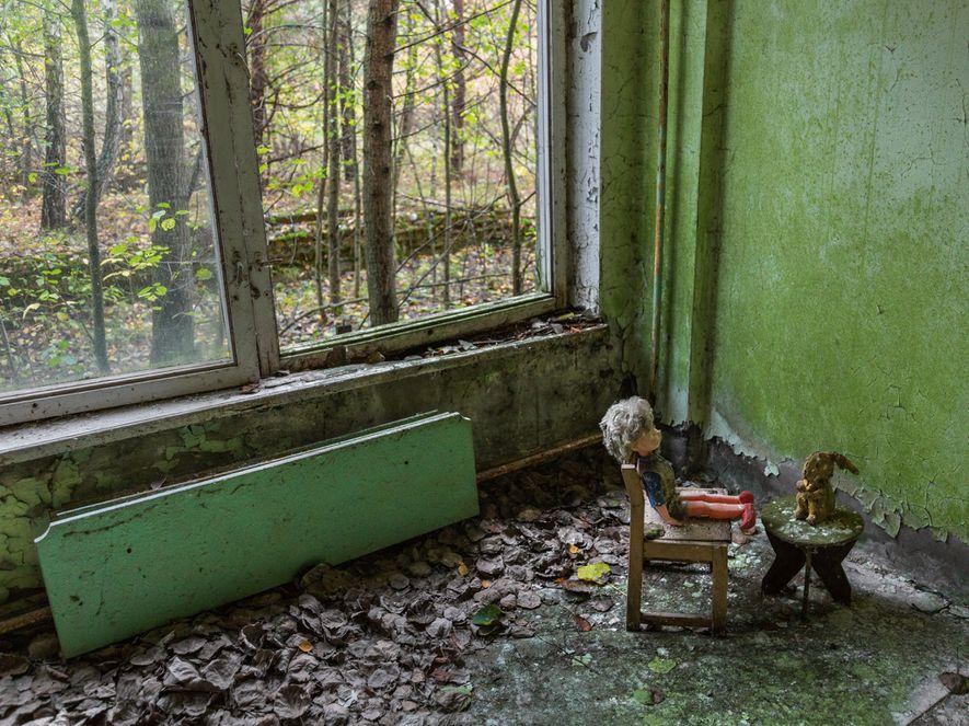 Depois de um acidente nuclear em 1986, Pripyat, na Ucrânia, foi abandonada. Hoje, deserta, a cidade ...