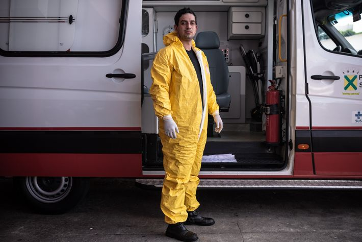 Dr. Ricardo Henrique Tevisan é médico de emergências do Samu de Santo André.