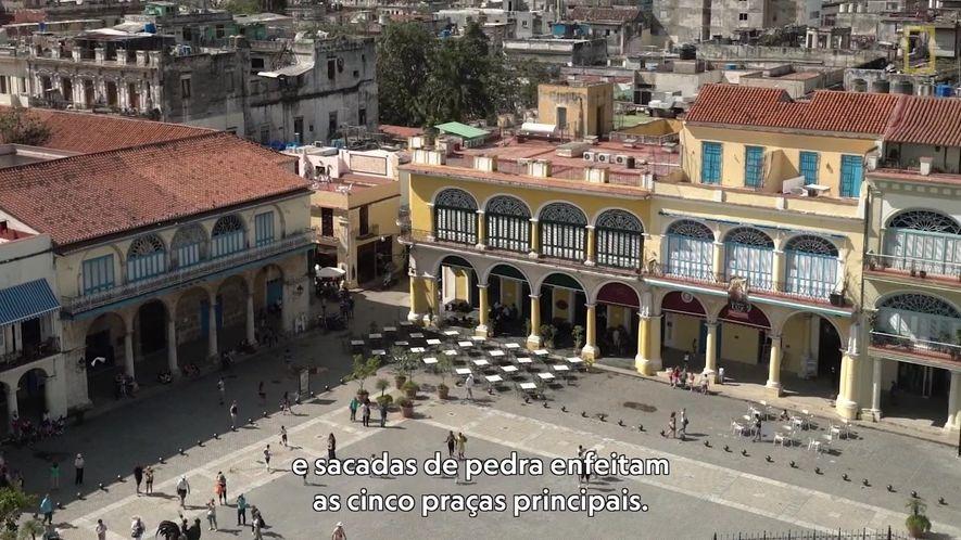 Descubra a vibrante herança arquitetônica de Havana Velha