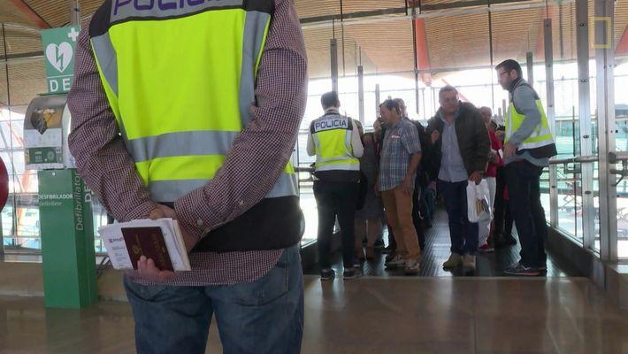 Aeroporto: Madri:  Controle de conexões