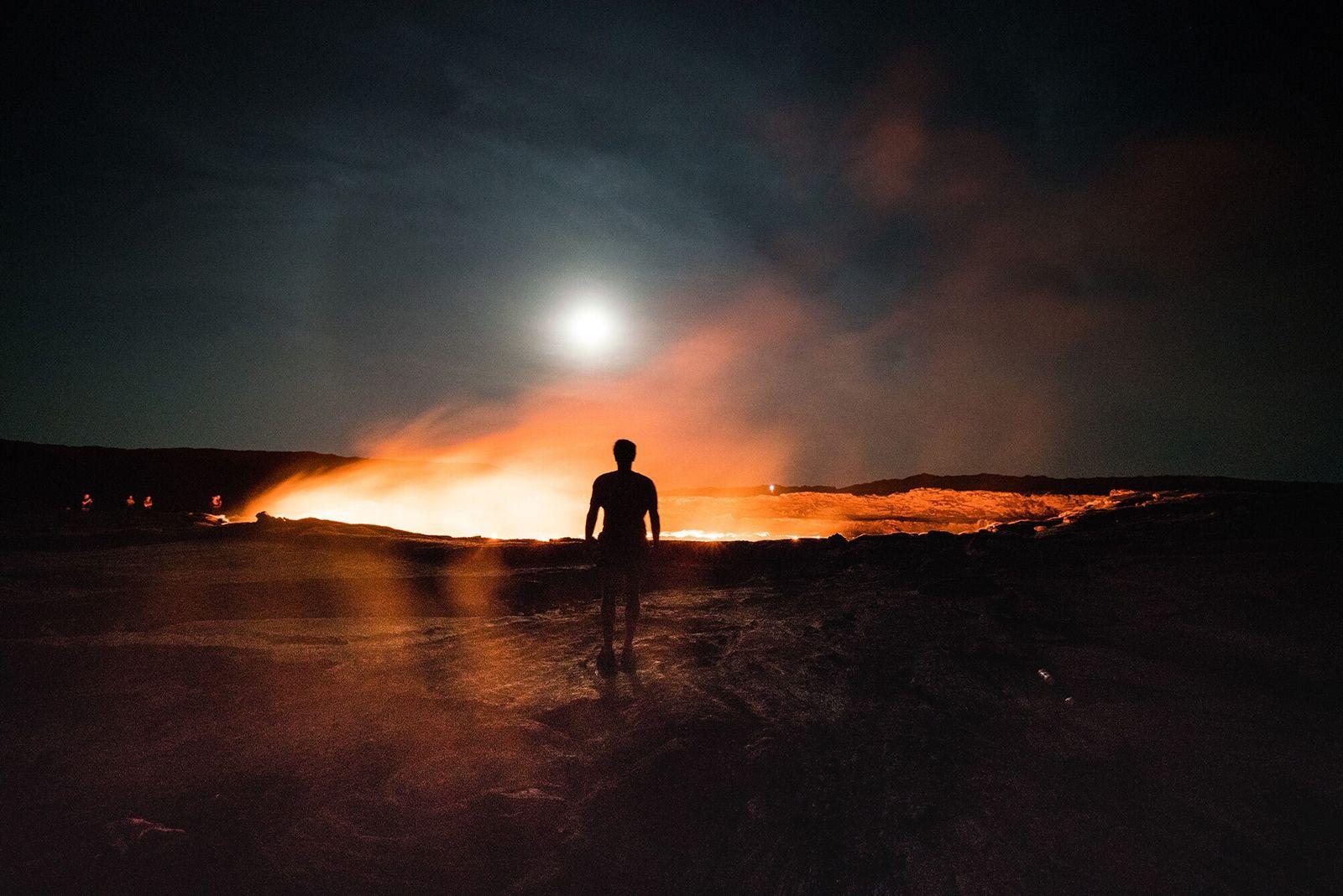 Danakil, Etiópia | Localizado na Depressão de Danakil, Erta Ale é um dos vulcões mais ativos ...