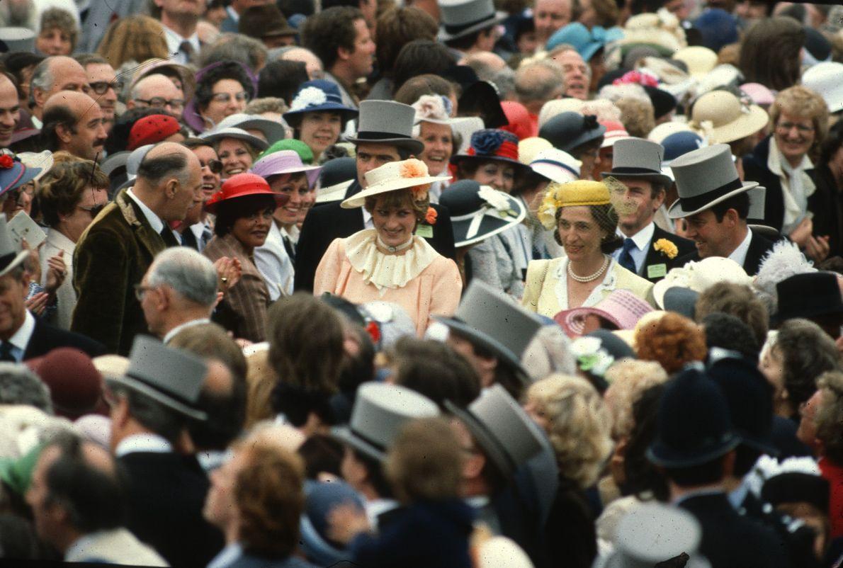 Princesa Diana entre o povo