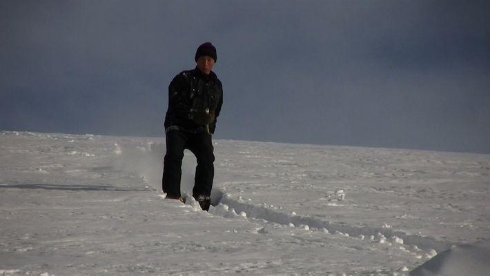 Estes esquiadores seguem uma tradição milenar para caçar nas montanhas da China