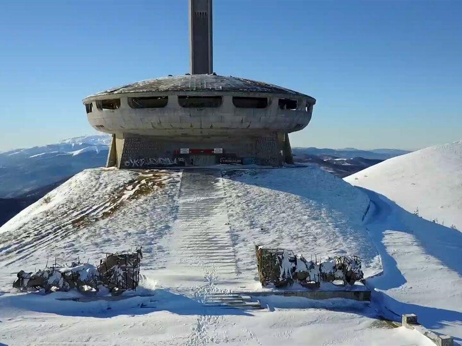 Este monumento comunista em ruínas ainda atrai turistas na Bulgária