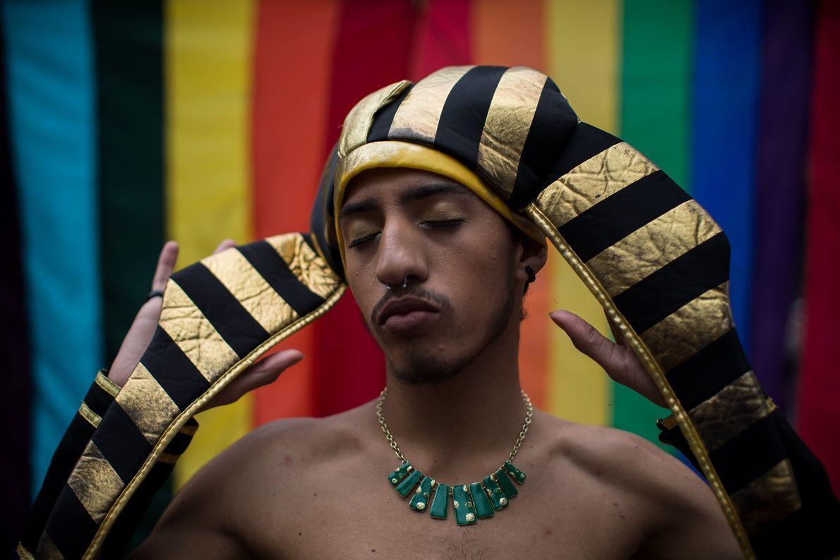 O arco-íris é um dos mais marcantes símbolos da comunidade gay, e também representa a diversidade.