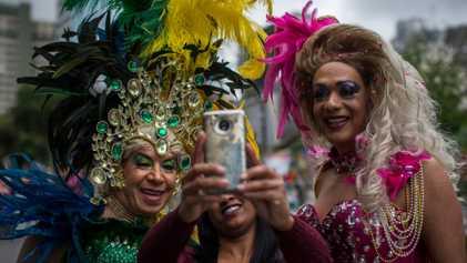 Confira imagens da Parada do Orgulho LGBTQIAP+ de São Paulo em 2018