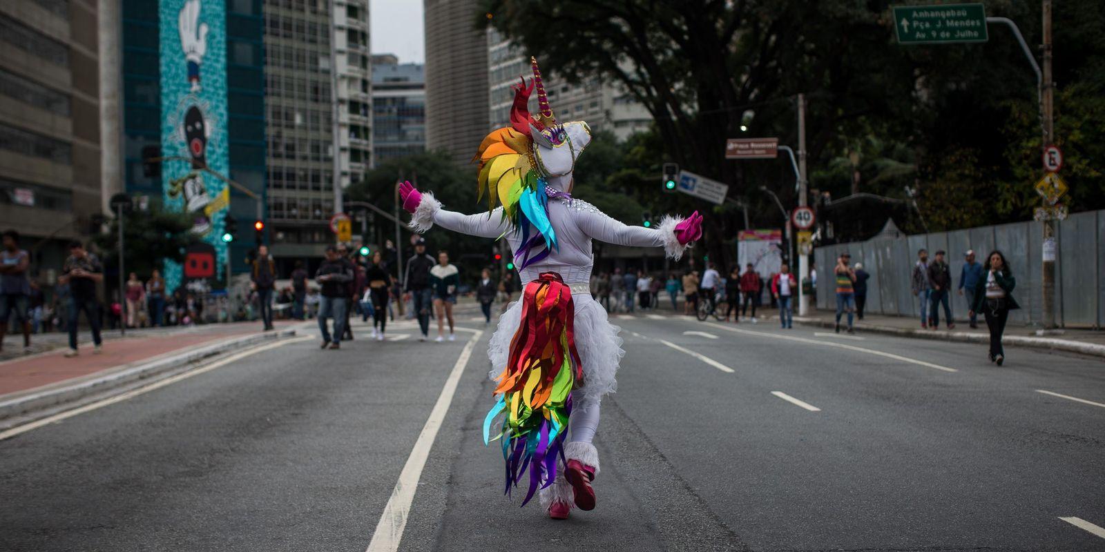 Confira imagens da Parada do Orgulho LGBTQIA+ de São Paulo em 2018