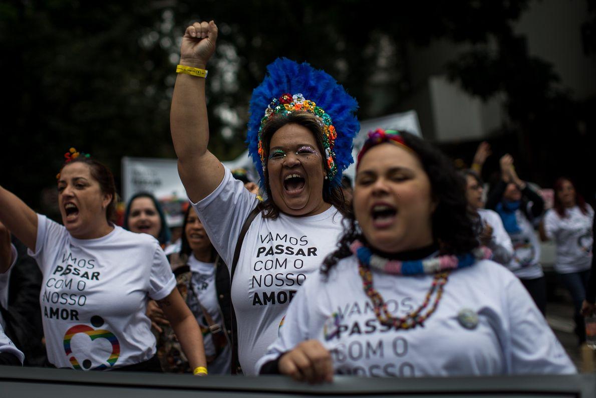 Considerada a maior parada gay do mundo, o evento é também um protesto político. Em 2018, ...