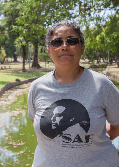 Sheila Nicolas Villas Boas é Chefe da Seção de Assistência ao Ensino (SAE) do Museu Nacional ...