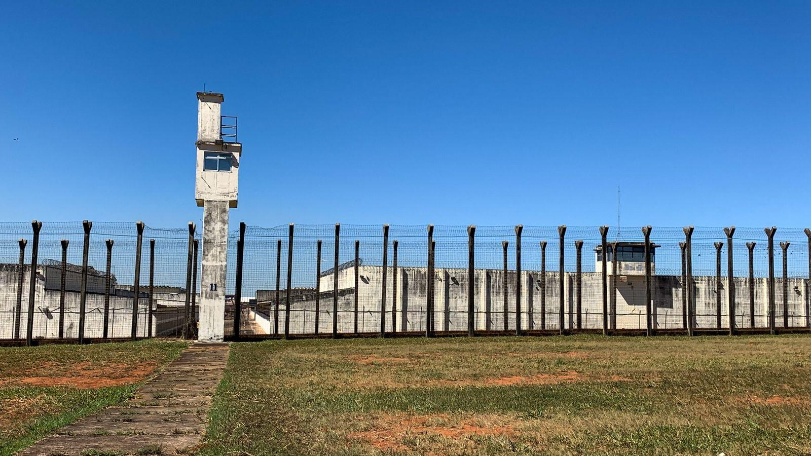 Complexo Penitenciário da Papuda, em Brasília: com 231 agentes oficialmente infectados pela covid-19, a unidade da federação ...