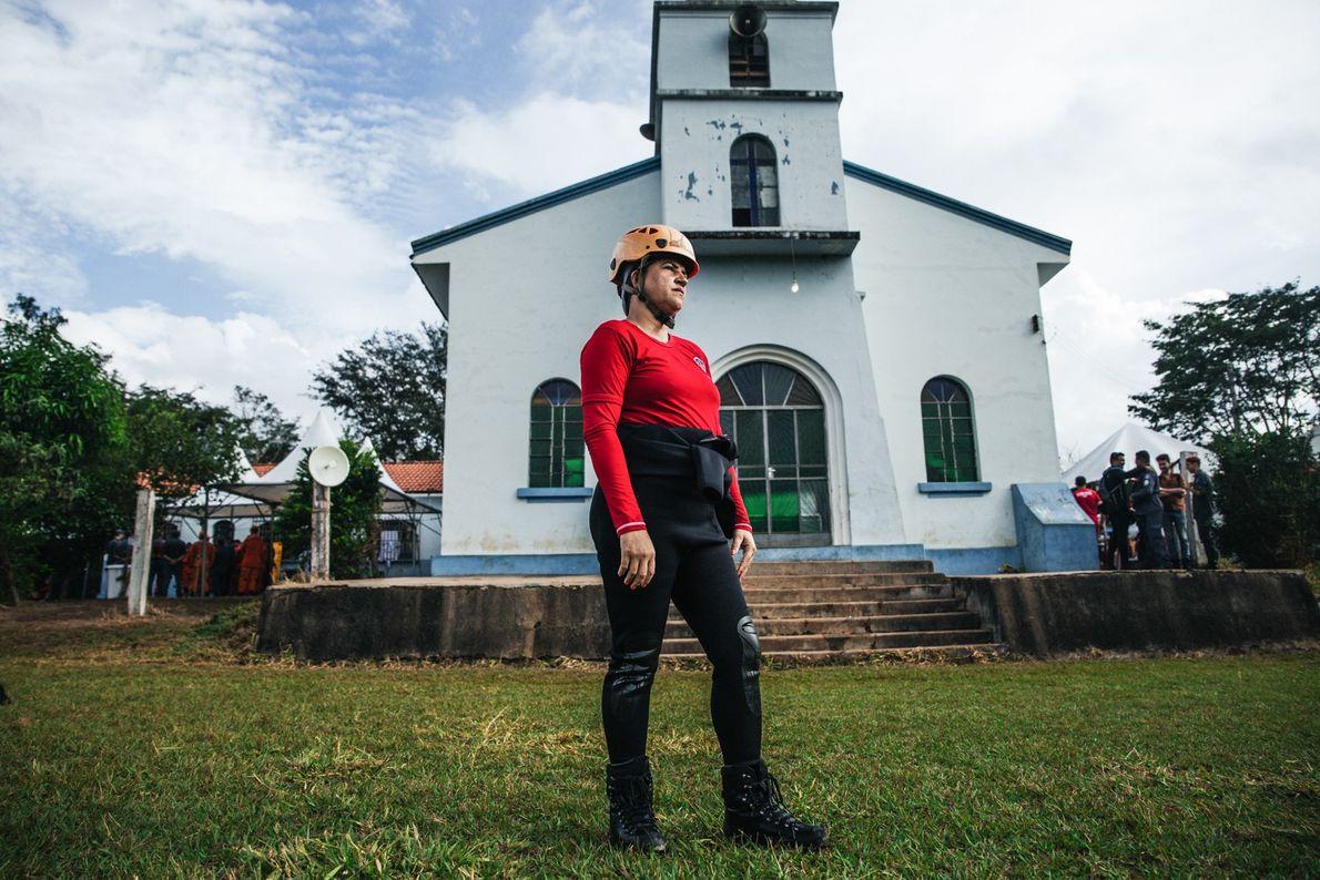 A sargento Fabíola Vieira, 38, é bombeira militar há 17 anos. Ela chegou a Brumadinho em ...