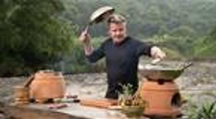 O chef Gordon Ramsay se conecta com o mundo por meio da culinária
