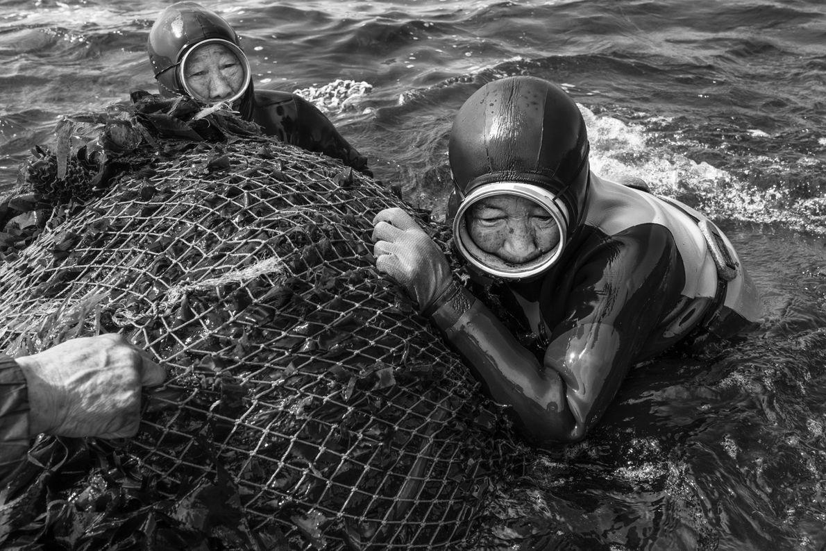 Haenyeo, Mulheres do Mar