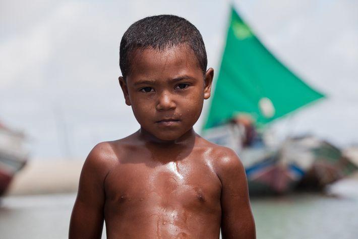 Luan Vitor Fonseca é filho de pescadores da Resex Marinha de Cururupu, no Maranhão.