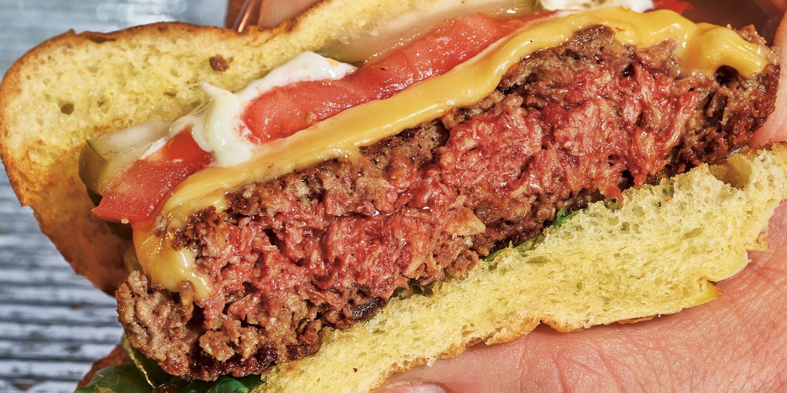 Este hambúrguer sangrento é vegano – e o futuro da nossa alimentação