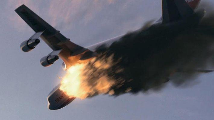 Mayday! Desastres Aéreos: Explosão Enorme