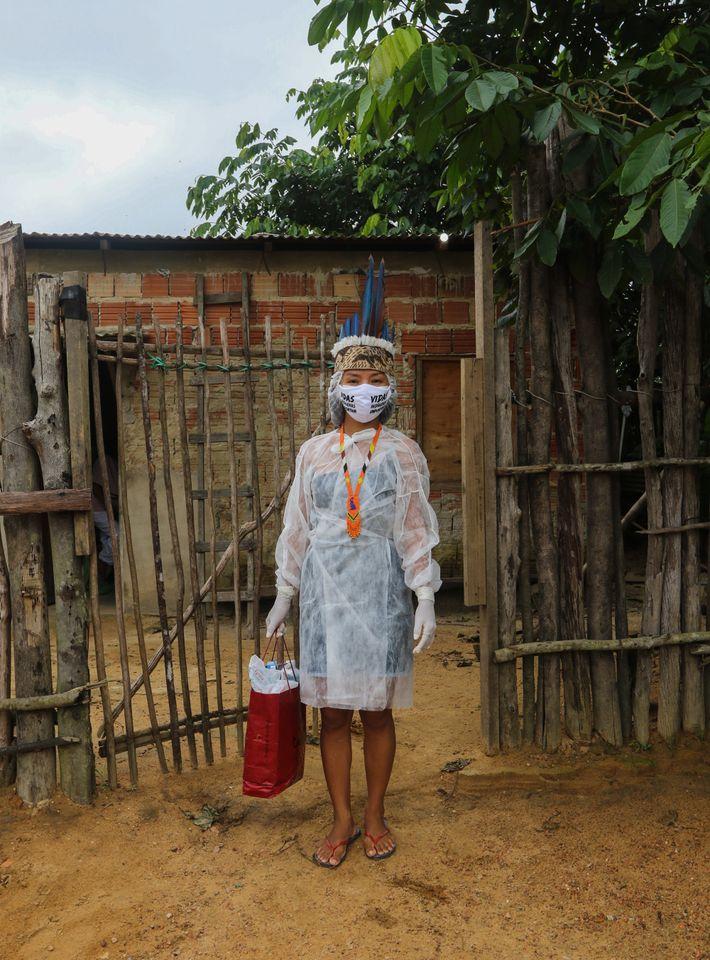 Vanda Ortega deixou sua comunidade indígena em Amaturá, no Amazonas, aos 16 anos para trabalhar como ...