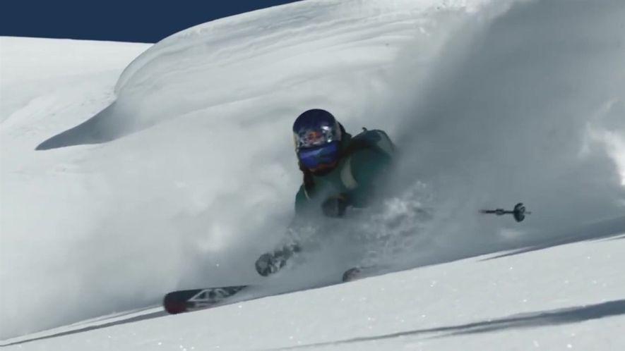 A missão desta esquiadora é enconrajar outras mulheres a esquiar com segurança