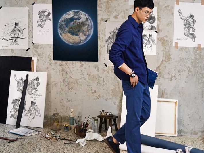 O ilustrador coreano Jaehoon Choi é o responsável pelos graciosos desenhos que ilustram a campanha da ...
