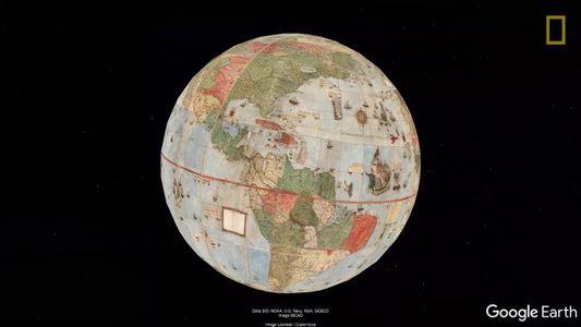 Mapa múndi de 1587, por Urbano Monte
