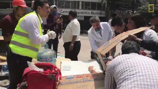 Poderoso terremoto de magnitude 7.1 atinge o México