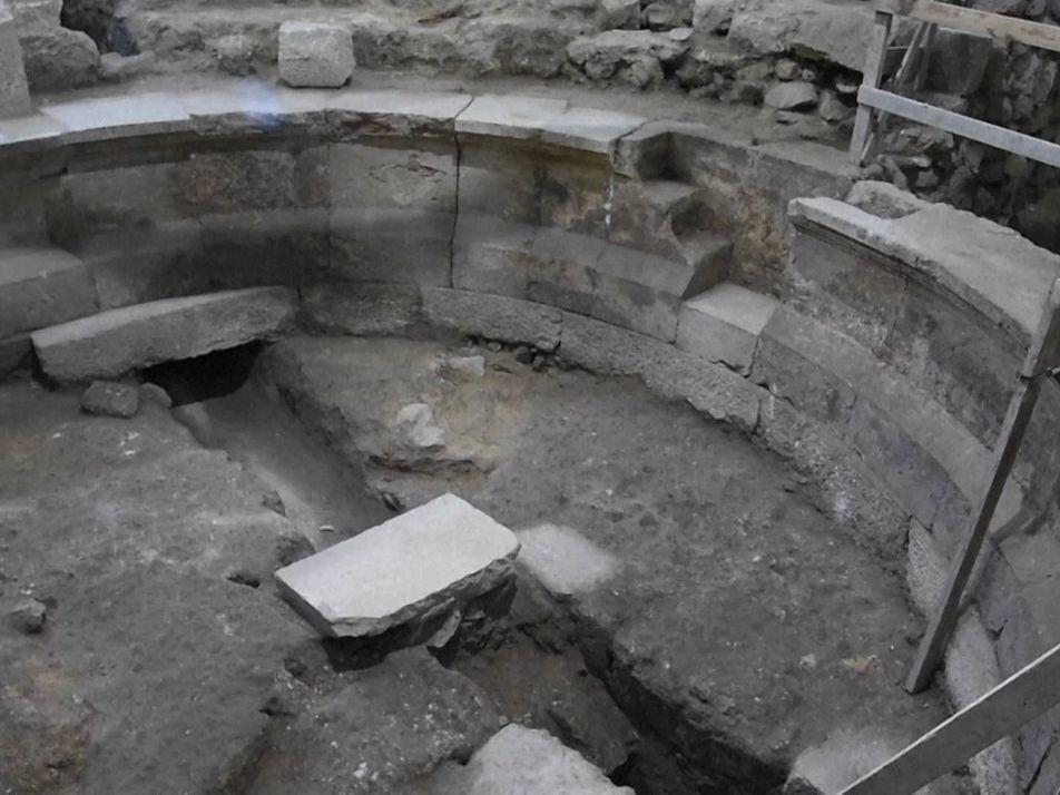 Ruínas em Jerusalém podem ser de antiga casa de shows