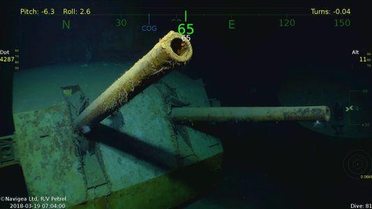 Veja como famoso navio naufragado na Segunda Guerra Mundial foi encontrado