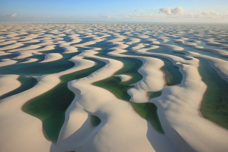 A reunião para definir se a inconfundível paisagem dos Lençóis Maranhenses, no Maranhão, entra na lista de Patrimônios Mundiais acontece em 2020.