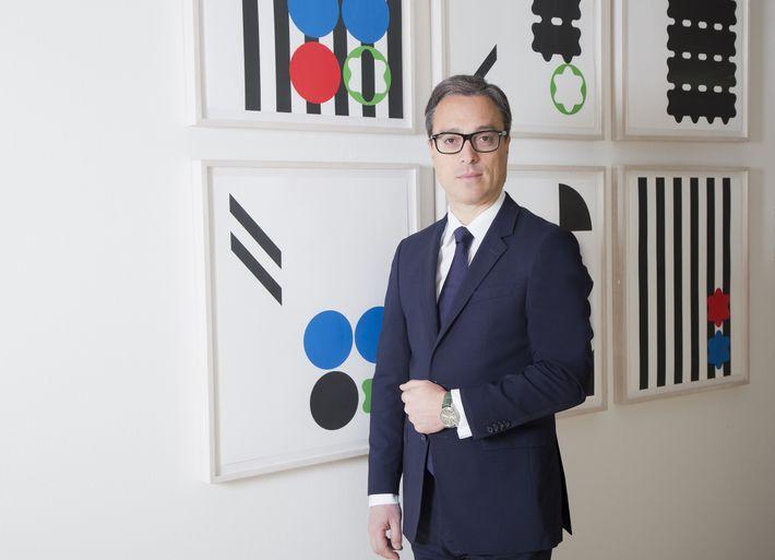Nicolas Baretzki é CEO da Montblanc.