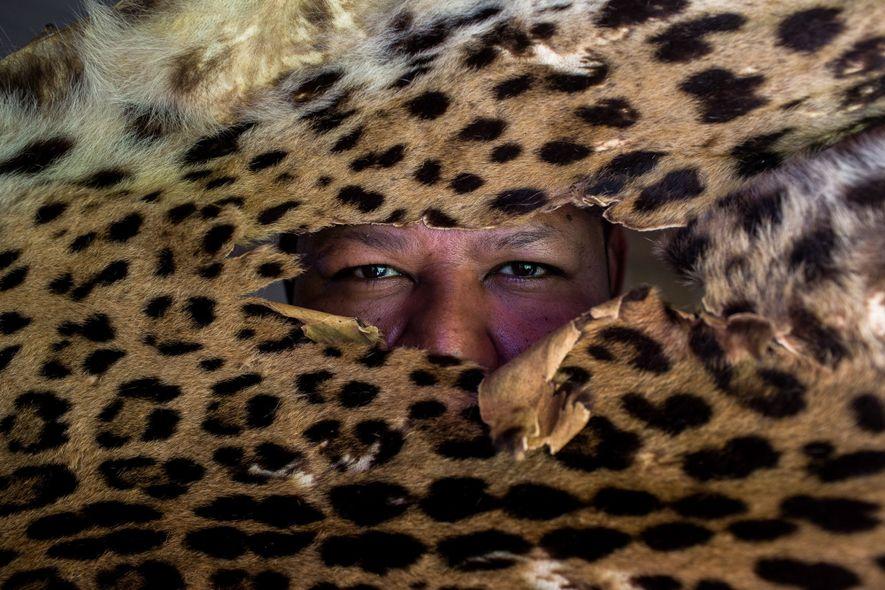 Este guia de ecoturismo do projeto Onçafari era um dos principais caçadores de onça da região ...