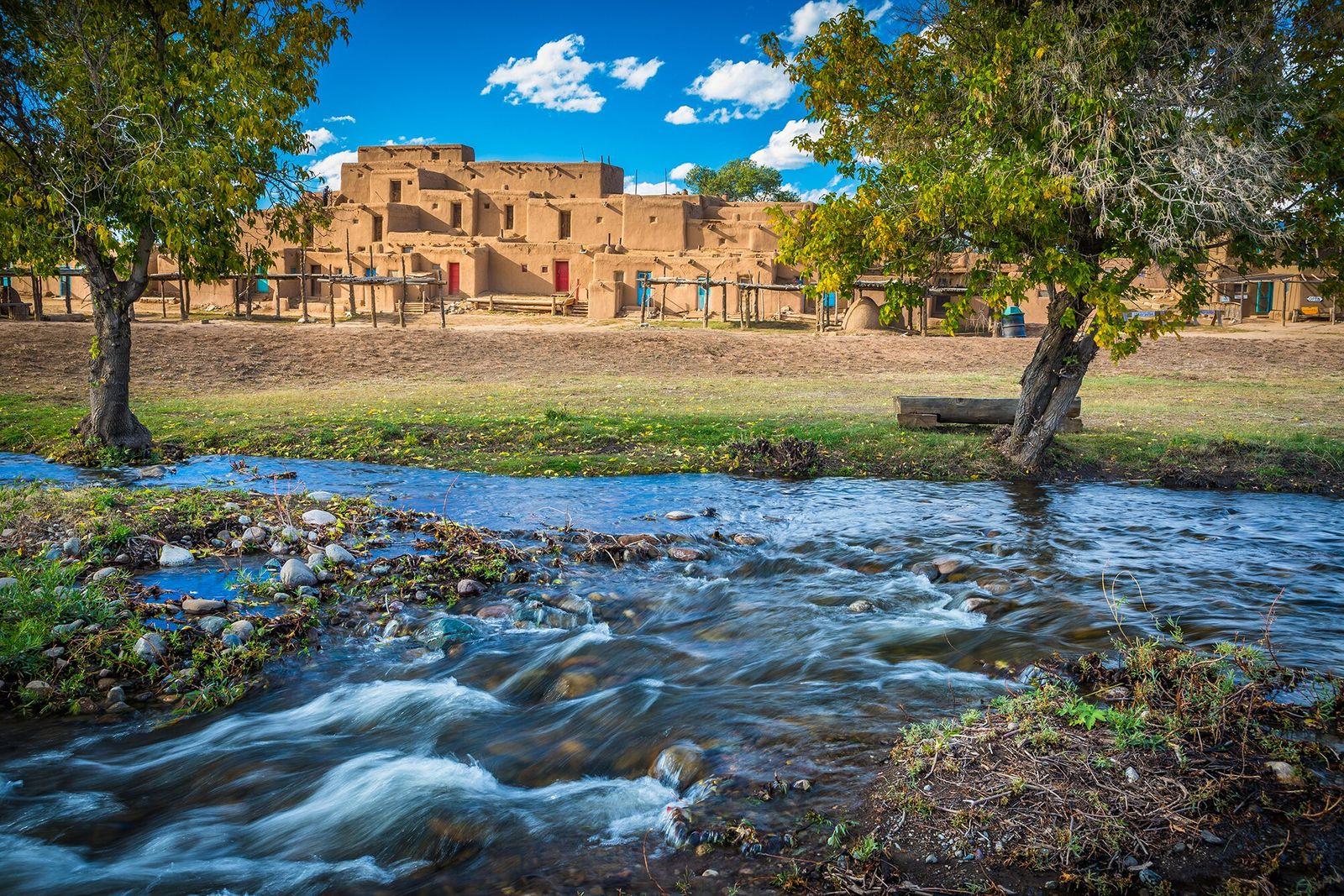 Nações Pueblo, Novo México   Único local de nativos americanos a se tornar Patrimônio Mundial da ...