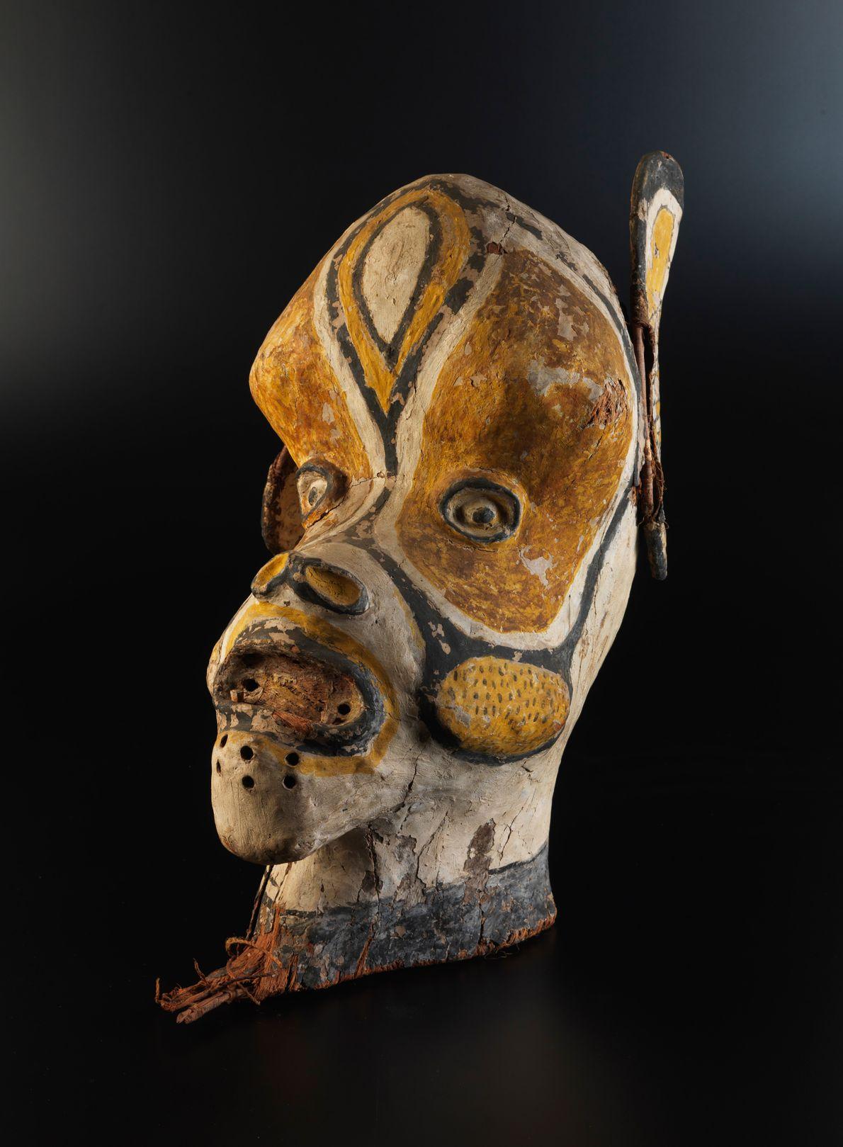 Máscara da etnia ticuna