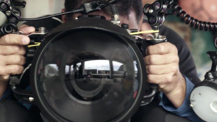 Haenyeo: Câmera fotográfica