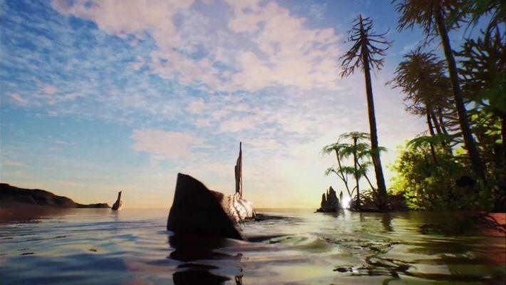 Animação mostra como o Spinosaurus nadava