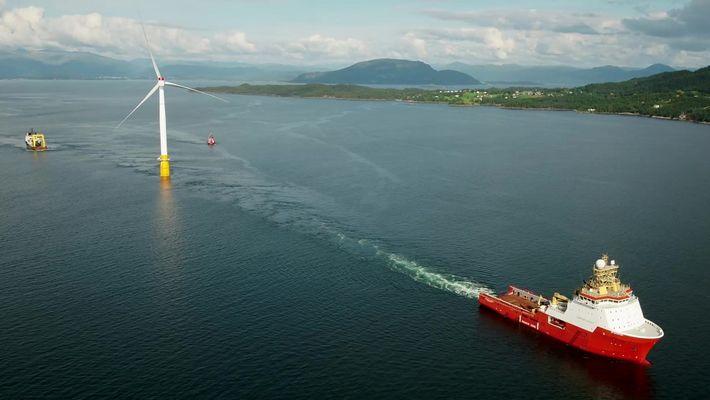 Conheça o primeiro sistema flutuante de captação de energia eólica