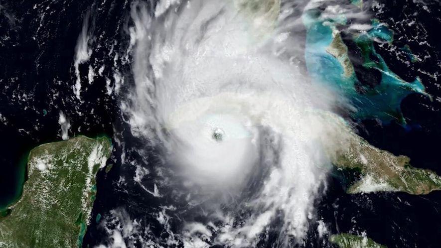 No olho do Furacão Irma