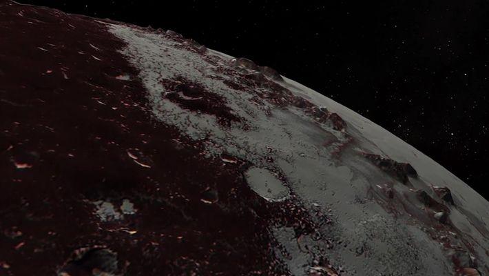 Sonda New Horizons faz imagens incríveis de Plutão