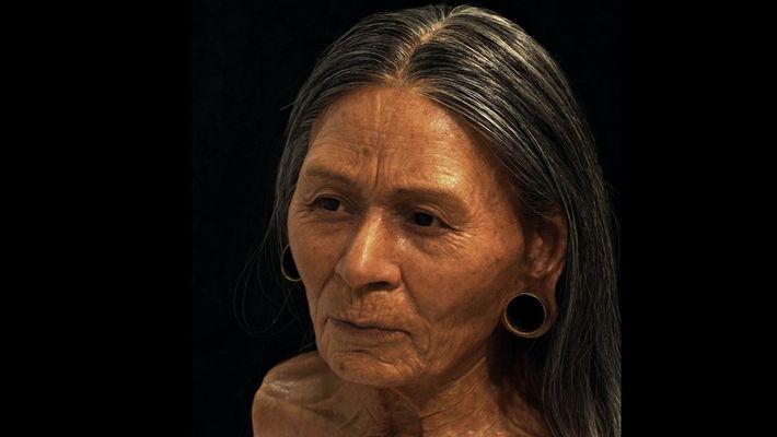 Rosto de rainha peruana é reconstruído