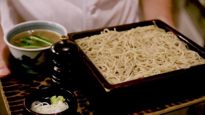 A arte japonesa do macarrão soba