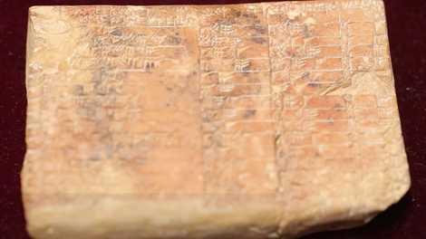 Tábua da Babilônia pode ser indício do primeiro uso de avançada técnica matemática