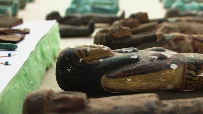 Tumba recém-descoberta no Egito