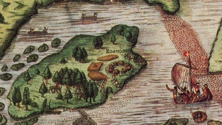 O que aconteceu com a colônia perdida de Roanoke?