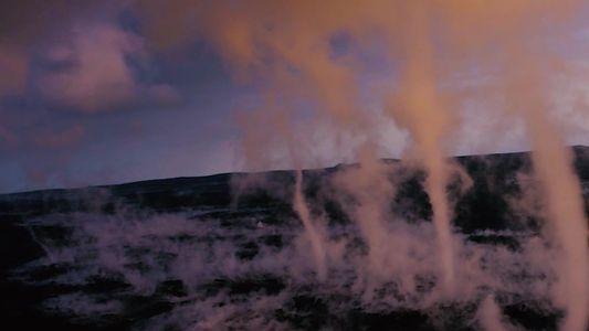 Tornados raros atingem o vulcão Kilauea no Havaí