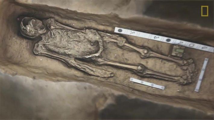 Os homens enterrados sob uma igreja de 400 anos de idade