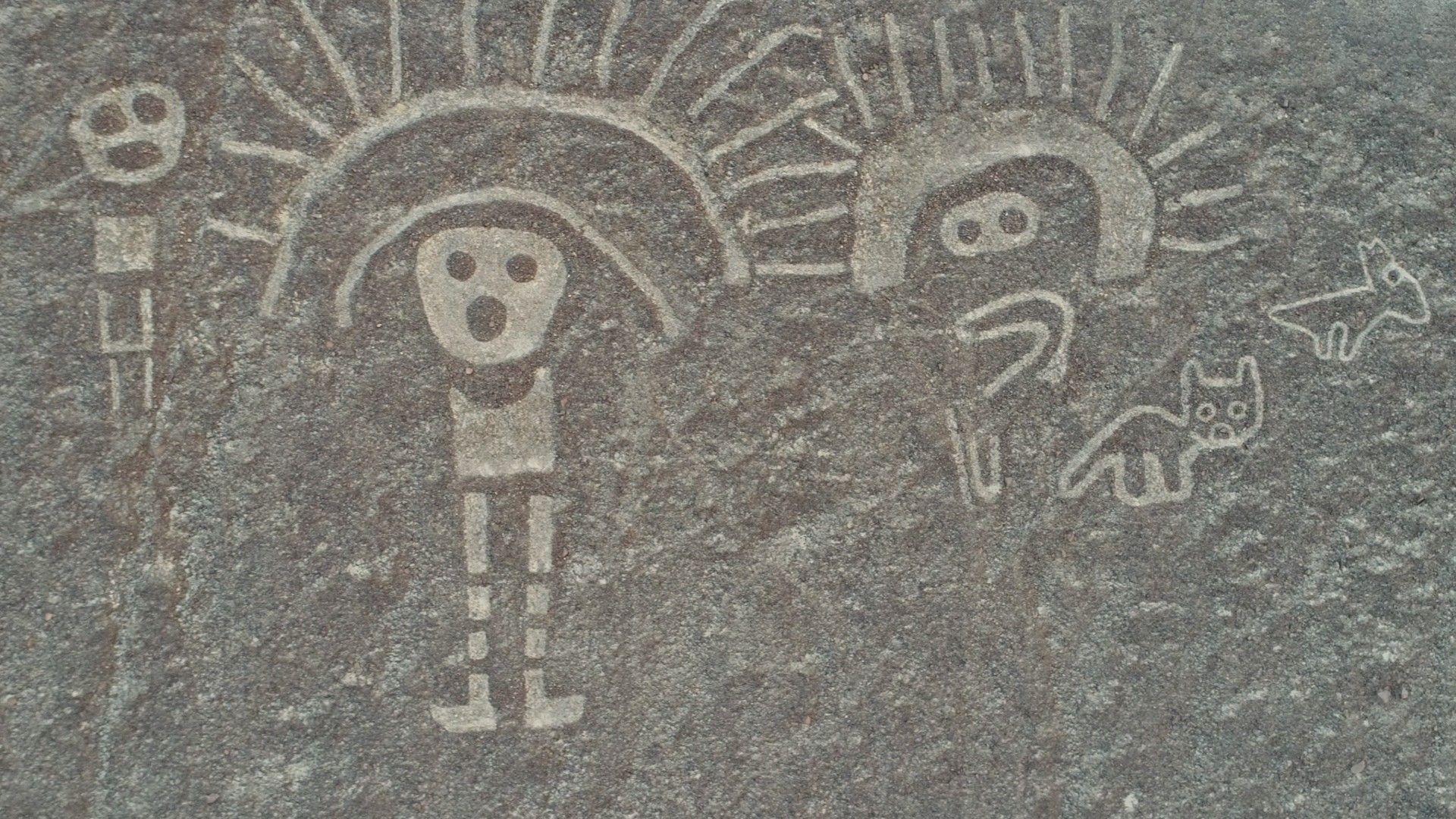 Exclusivo: desenhos gigantes, como as linhas de Nazca, são encontrados no Peru | National Geographic