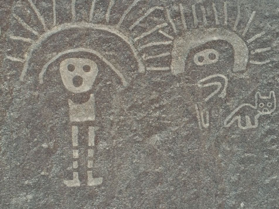 Exclusivo: desenhos gigantes são encontrados em deserto peruano