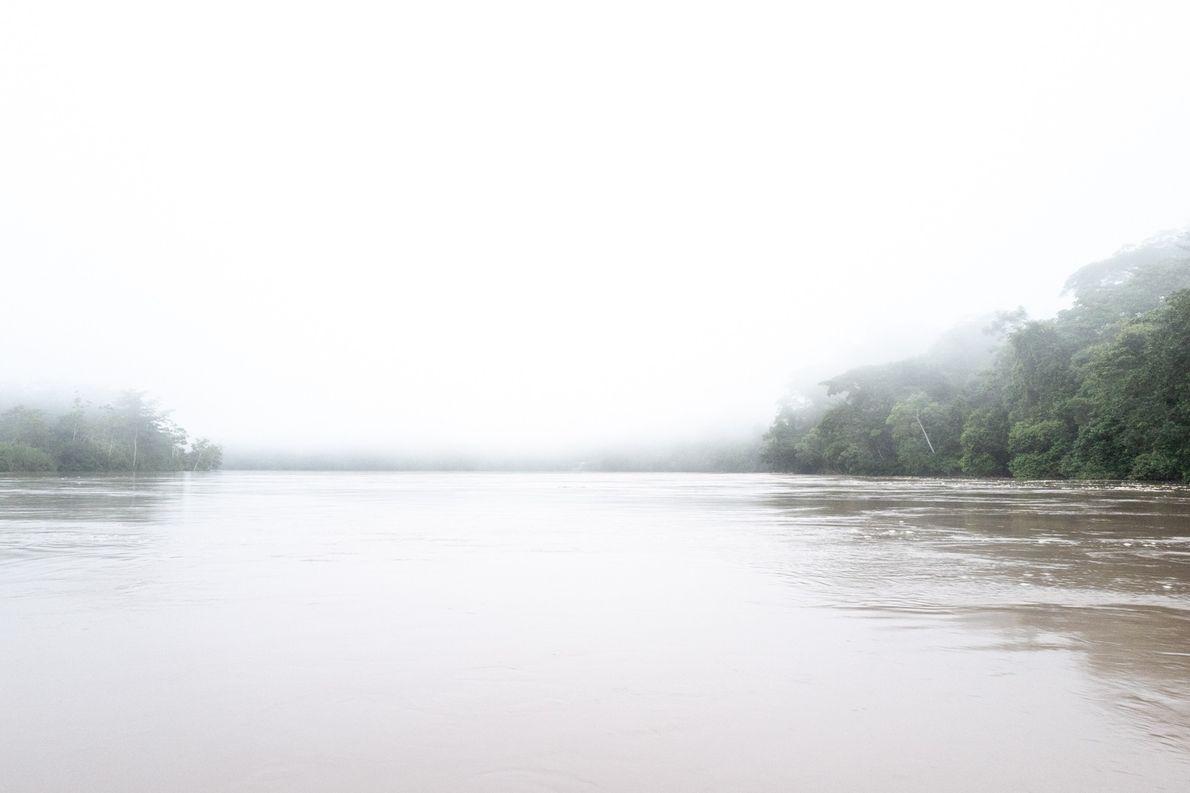 Rio Santiago, território dos wampís, na Amazônia peruana.