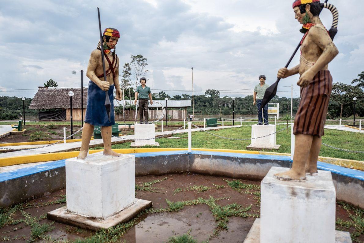 """Monumento homenageia os heróis do """"El Baguazo"""""""